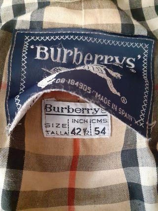 Gabardina beis Burberry