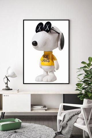 Lamina Snoopy Kaws