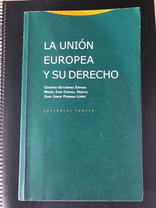 Manual derecho Unión Europea