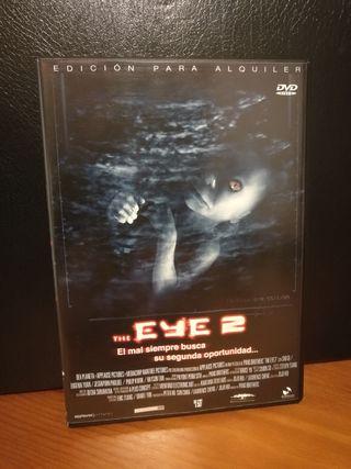 DVD THE EYE 2 español película de terror