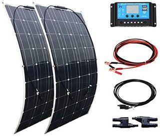 XINPUGUANG 200W kit de Panel Solar 2pcs 100w módul