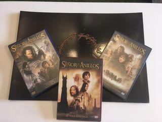Lote DVD+Dossier+figura cartón