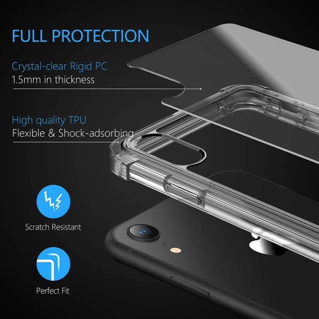 Clear iphone x phone case