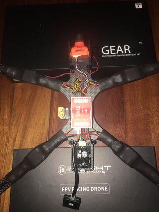 Dron carbono 8mm / 10 pulgadas