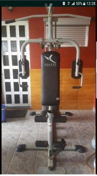 maquina de pesas gimnasio en casa