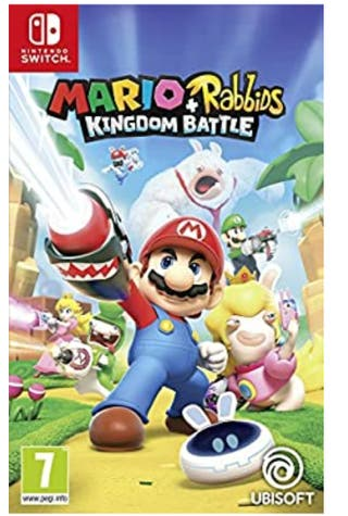 se cambia juego Mario rabbisd Nintendo switch