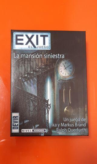 La mansión siniestra - EXIT