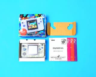 Neo Geo Pocket Color Clear con Caja