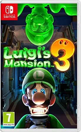 Luigis Mansión 3 Nintendo Switch