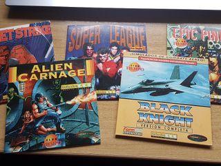 Pack videojuegos antiguos