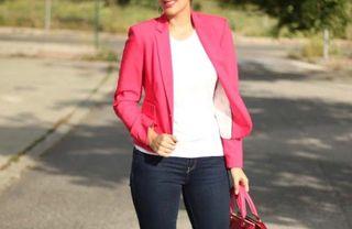 Americana frambuesa Zara