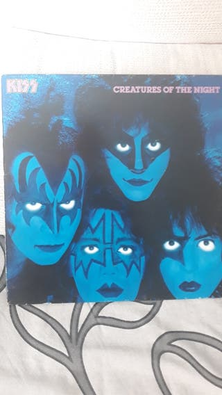 KISS. Creatures of the night. Vinilo.