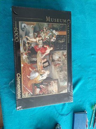 Puzzle 6000 piezas Alegoria Vista y Olfato.Bruegel
