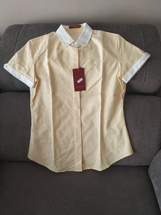 camisa mujer nueva talla 38