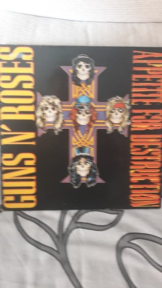GUNS N' ROSES. Appetite for destruction. Vinilo.