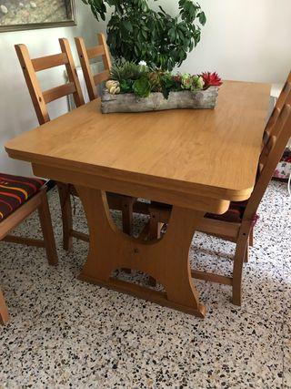 Mesa comedor 6 sillas