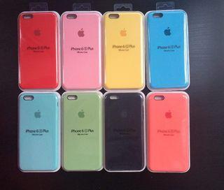 Funda Original iPhone 6/6s de silicona usado en venta en Barcelona