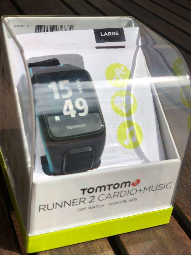 Reloj TOMTOM Runner 2 Cardio + Music