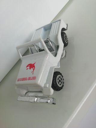 Coche metal plástico juguete 6cm juguete