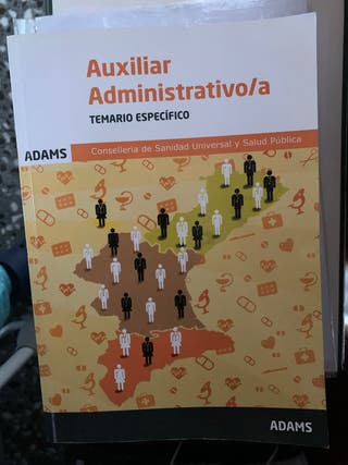 Temario específico auxiliar administrativo