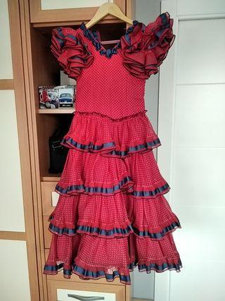 Vestido de flamenca.