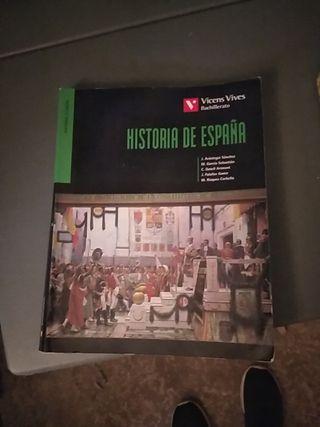 libro de historia de España de Vicens Vives