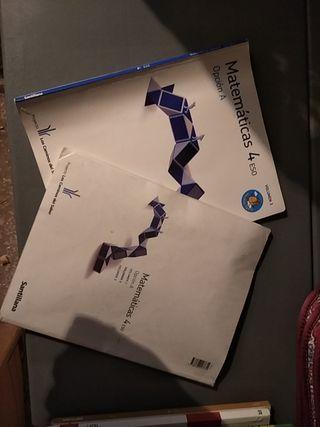 libros de matemáticas 4° ESO