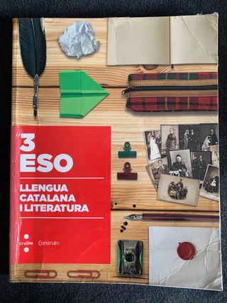 Libro de lengua catalana y literatura