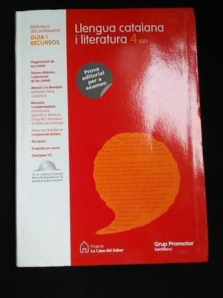 Lengua catalana i literatura 4° ESO