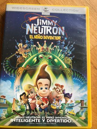 Película DVD Jimmy neutron