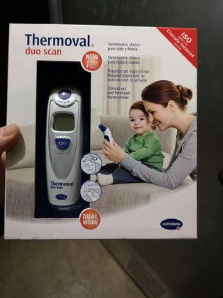 termómetro oído y frente