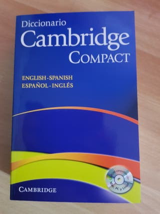 diccionario cambridge compact