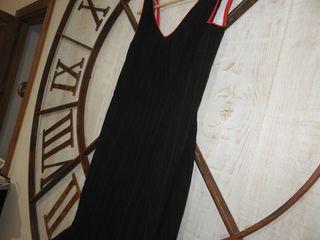 Traje de flamenca rojo y negro