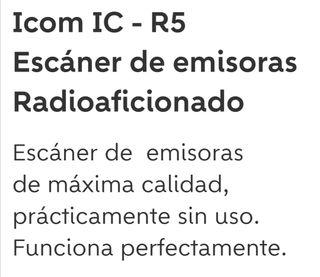 escaner de emisoras Icom