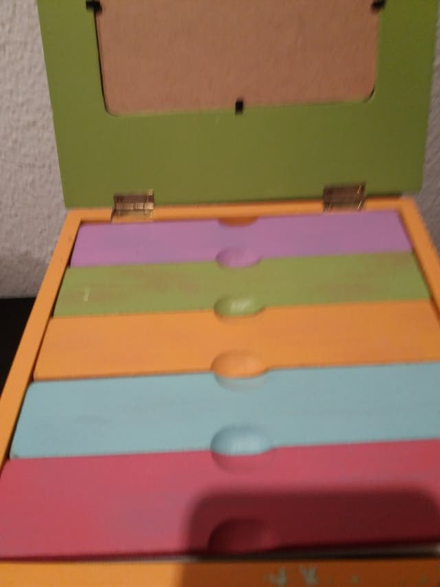 caja algún fotos nueva madera