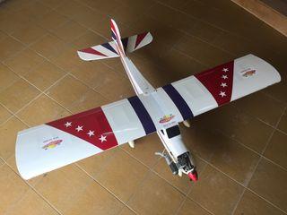 Avión de aeromodelismo