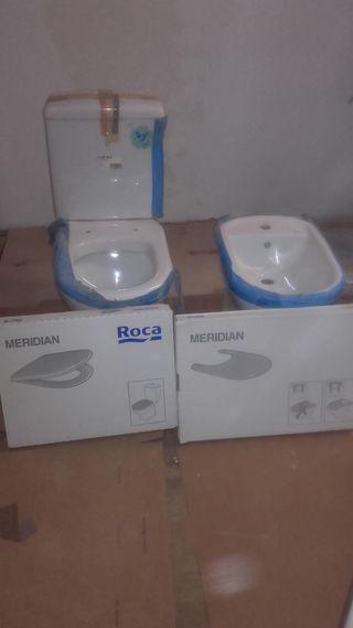WC y Bidet Roca