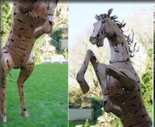 OFERTA Escultura metálica tamaño real