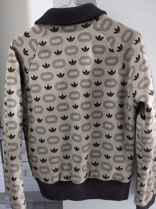 chaqueta tipo bomber Adidas vintage