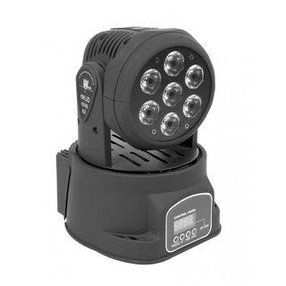 MINI CABEZA MOVIL LED WASH 7x10W LIGHTSIDE