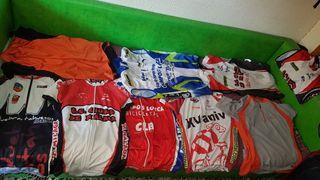 9 Camisetas Ciclismo