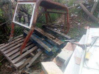 arco de seguridad de tractor de cadenas oruga FIAT