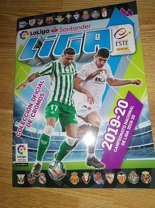 Álbum Vacío La Liga Este 2019-20 Panini