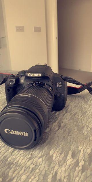 Camera canon D700