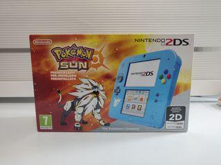 Nintendo 2DS Edición Especial Pokémon Sol + Juego