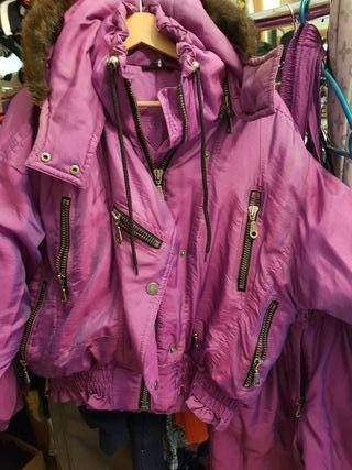 Conjunto de chaqueta y pantalón para esquiar