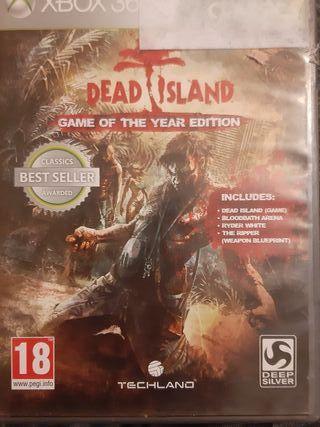 juego dead island para xbox 360