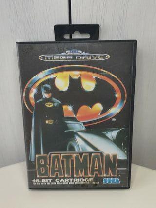 Batman de sega mega Drive completo