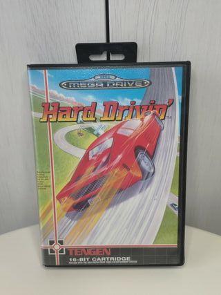 juego hard drivin de sega mega Drive completo