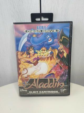 juego Aladdin de sega mega Drive